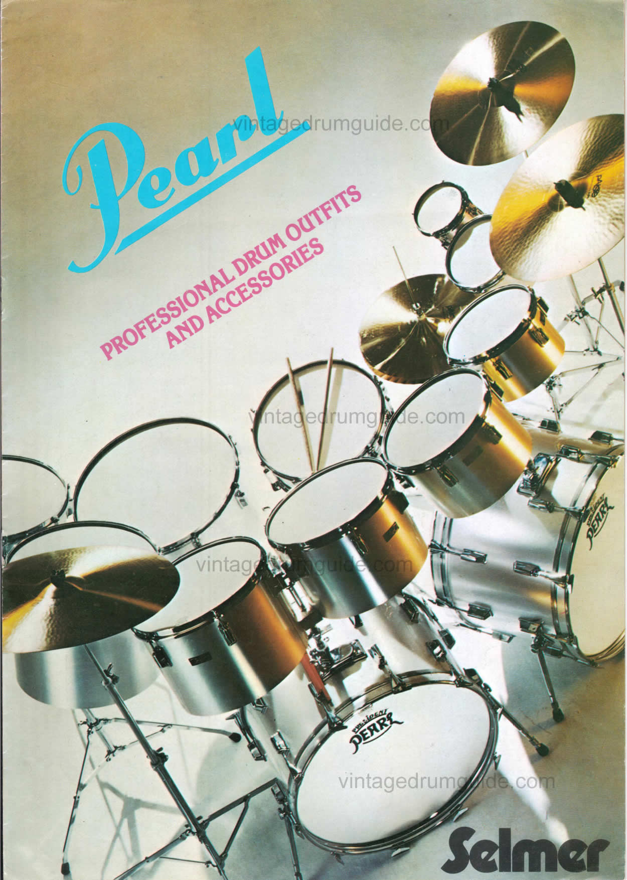 1970 Pearl drum catalog