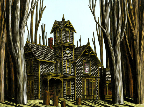 Wood Lot House (with Victorian Windows) - Luke Painter, 2009