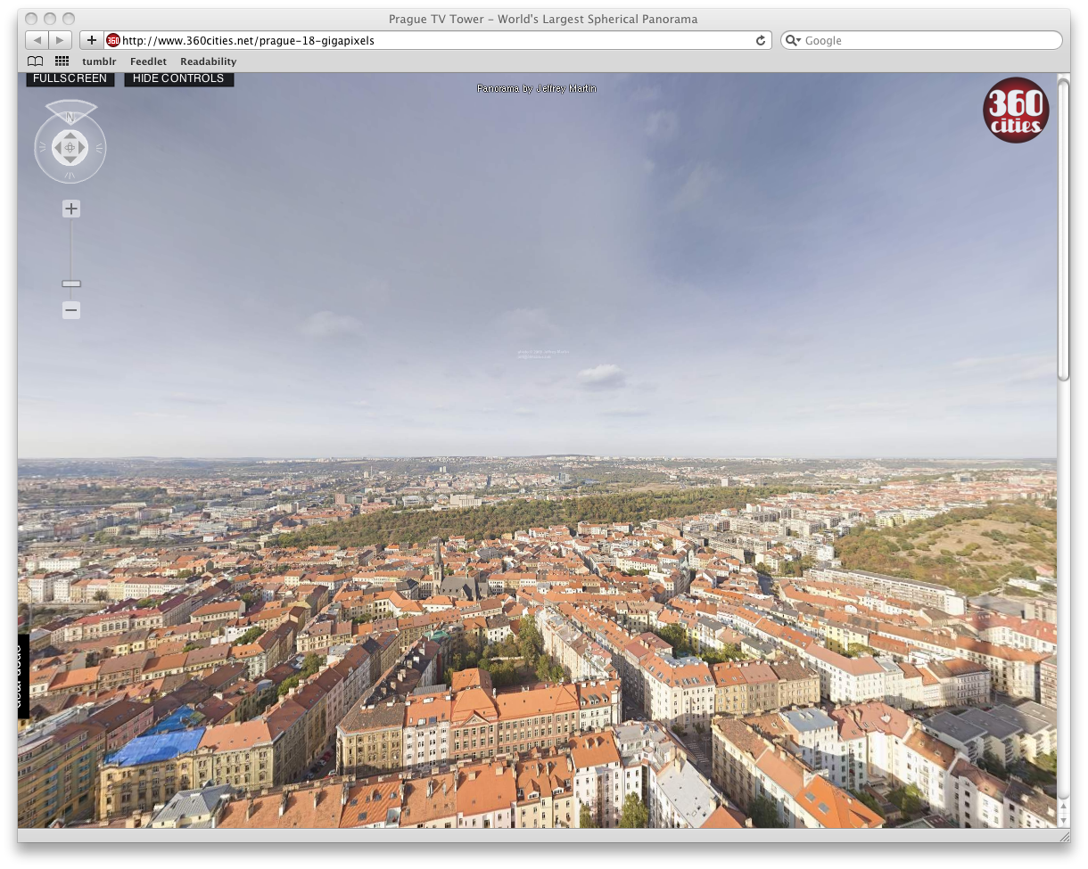 Screenshot of Prague Panorama