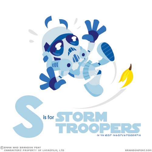 S is for Stormtroopers, by Brandon Peat